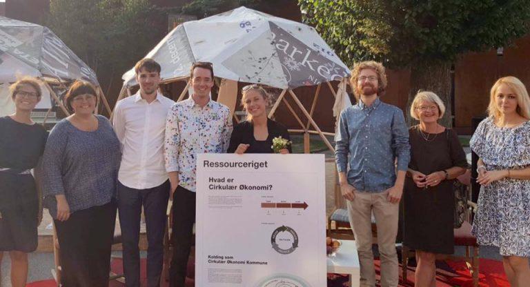 RCO at Circular living debate in Kolding