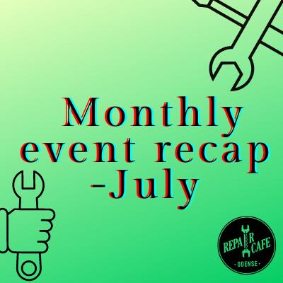Monthly event recap